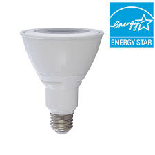 verbatim 75w equivalent warm white par30 led flood light bulb