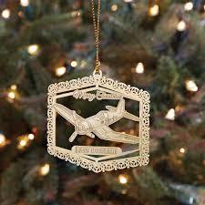F4U Corsair Christmas Ornament From Sportys Pilot Shop