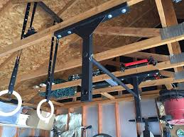 Trx Ceiling Mount Weight Limit by Rogue P 6v Garage Pull Up System Strength Training