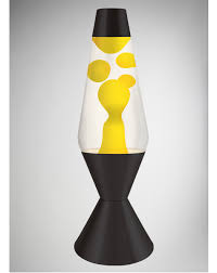 Spencers Lava Lamp Light Bulb by Lava Lamp With Yellow Lava Clear Liquid And Black Base 52 Oz