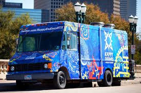 100 Food Trucks Houston Happy Endings Asian Fusion Mobile Cuisine