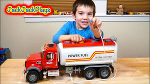 100 Truck Toys Fort Worth Playing With Bruder Toy S Unboxing Fuel Surprise Box