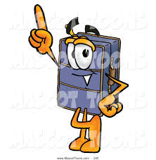Royalty Free Travel Agency Stock Mascot Clipart Illustrations