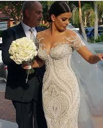 Photos Do Not This Gown Any Justice Steven Khalil Created Custom Masterpiece Using Stunning White And Silver Italian Beaded Lace Which
