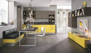 Medium Size Of Grey Kitchen With Yellow Accents Blue And Decorating Ideas What Color