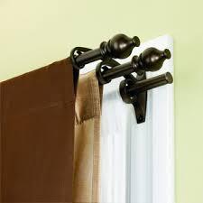 Umbra Cappa Curtain Rod Copper by Kirsch Double Lock Seam Curtain Rod Cheap Curtain Sale Window