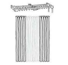 Extra Long Curtain Rods 180 Inches by 147 Best Standard Traverse Rod Sets Cord Draw Images On Pinterest