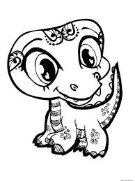 Littlest Pet Shop Coloring Pictures To Print Pages Pdf Free Zoe