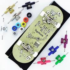 100 Fingerboard Trucks PREP 34mm Stuff Complete Wooden Pick And
