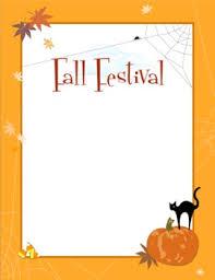 Halloween Festival Borders Clipart 1