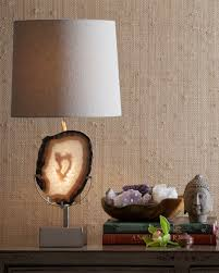 Tahari Home Lamps Crystal by Agate Table Lamp Neiman Marcus