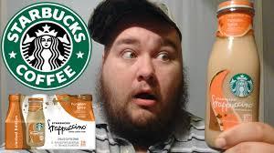 Pumpkin Spice Frappuccino Recipe Starbucks by New Starbucks Pumpkin Spice Frappuccino Review Youtube