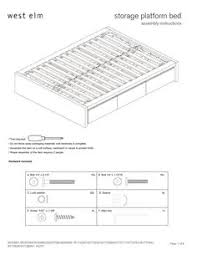 then under the bed storage queen or king platform bed use these