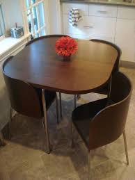 Table And Chairs For Small Spaces Smart Furniture Within Dining Tables Plan 16 On