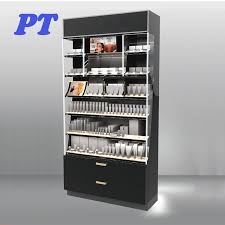 Wood Cosmetic Display Cabinet Suppliers And Manufacturers At Alibaba