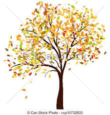 Autumn Birch Vector