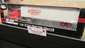 100 Eastern Truck And Trailer DCP 32076 EASTERN FREIGHT WAYS RED BALL VOLVO SEMI CAB TRUCK