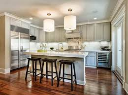 Kitchens With Wood Floors And White Cabinets Xoidno Best For Kitchen Floor