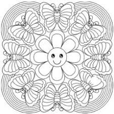 Abstract Coloring Pages Little Popular Printable