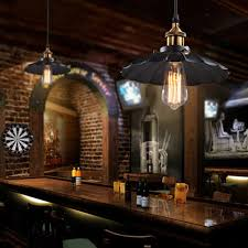 American Retro Industrial Wind Style Pendant Lights Creative Rustic Hanging Lamps Bar Cafe Restaurant Iron