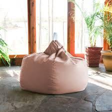Kiss Outdoor Patio Bean Bag Chair - Petal