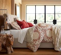 Pottery Barn Raleigh Bed by Pottery Barn Holiday Upholstered Furniture Sale Upholstered Beds