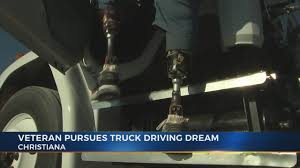 100 Truck Driving Schools In Ct Double Amputee Veteran Chases Truck Driving Dream