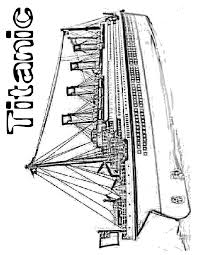 Titanic The Movie Coloring Page