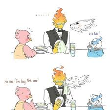 Fail Grillby And Little Sans