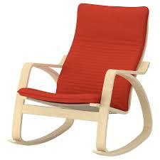 POÄNG - Rocking Chair, Birch Veneer, Knisa Black