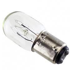 light bulb turn lock 15 watt sewing parts
