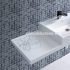italien grau korb weben badezimmer boden mosaik fliesen buy grau farbe schiefer korb weben carrara weiß product on alibaba