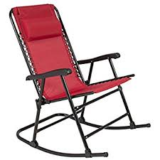 Slingback Patio Chairs That Rock by Amazon Com Best Choice Products Folding Rocking Chair Foldable