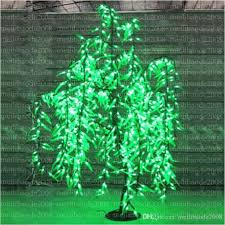 Outdoor Christmas Trees With Led Lights New 2017 Free Ship Willow Tree Light