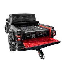 100 Truck Bed Tie Down System DECKED 5 Ft 3 In Pick Up Storage For Jeep Gladiator 2020Current
