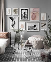gallery wall inspiração para criar uma wohnzimmer