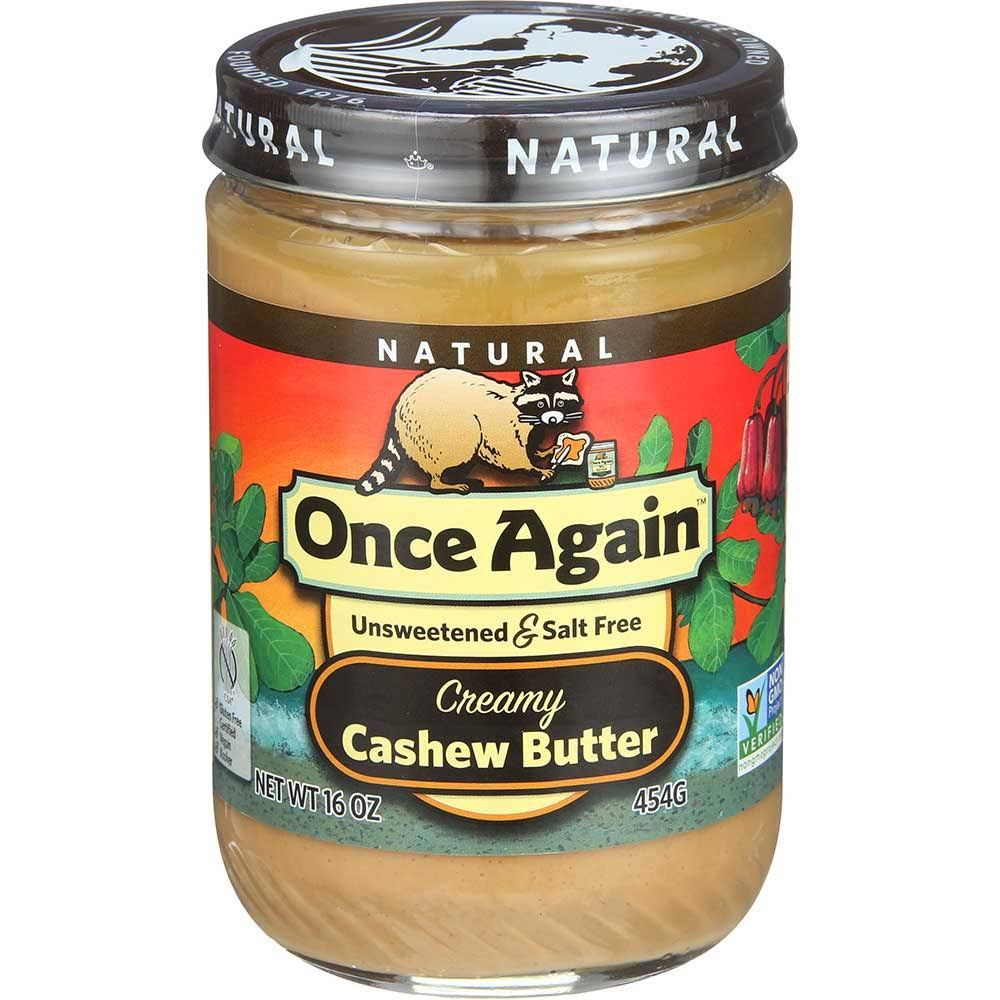 Once Again Natural Creamy Cashew Butter - 16oz