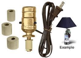 Lamp Wiring Kit Australia by Lamp Making Kits With Medium Edison Style Sockets National Artcraft