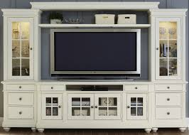 Harbor View Linen Entertainment Wall Unit with 62