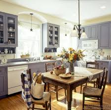Kitchen Theme Ideas Blue by Early American Kitchens Pictures And Design Themes