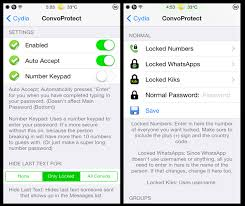 ConvoProtect lock or hide individual conversations in Messages
