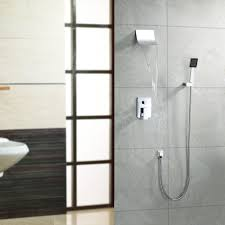 Wall Mounted Waterfall Faucets Bathroom by Lightinthebox Contemporary Wall Mount Widespread Waterfall Shower