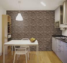 vliestapete steinoptik steinmauer textur küche