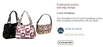 HOT Coach Bags for $70 on No More Rack