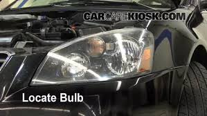 headlight change 2002 2006 nissan altima 2005 nissan altima s