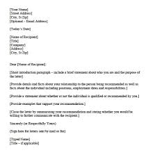 Letter Of Credit Reference Templates Save Letter Reference Template