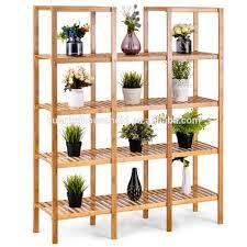 bambus utility regal badezimmer regal pflanzen display stand 12 tier storage organizer rack cube mit mehreren zellen schrank lagers chrank buy