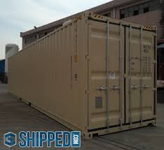 100 Shipping Containers 40 ON SALE NOW FT NEW ONE TRIP HIGH CUBE STEEL SHIPPING CONTAINER In