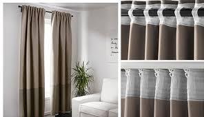 Ikea Lenda Curtains White by Curtains U0026 Blinds Ikea