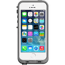 iPhone 5 5SE 5S Lifeproof case fre series white gray Walmart